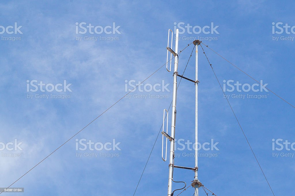 Antenna mobile stock photo