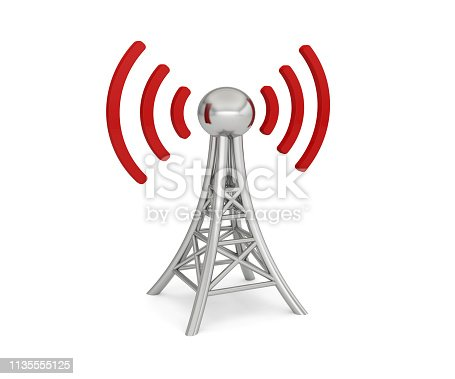 antenna network 3G 4G 5G wireless transmission 3D
