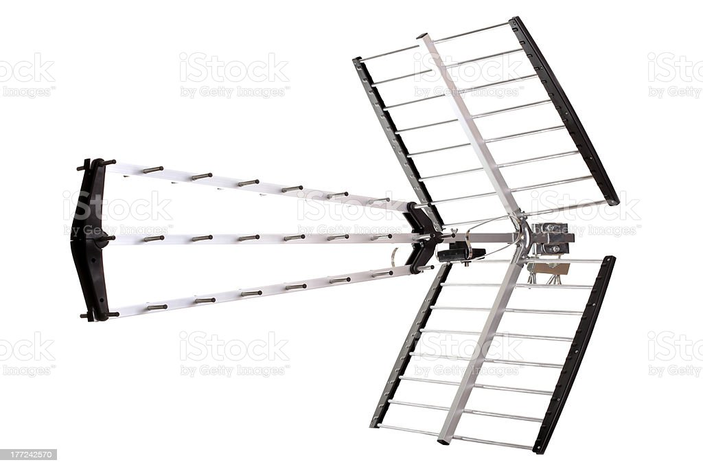 DVB-T antenna royalty-free stock photo