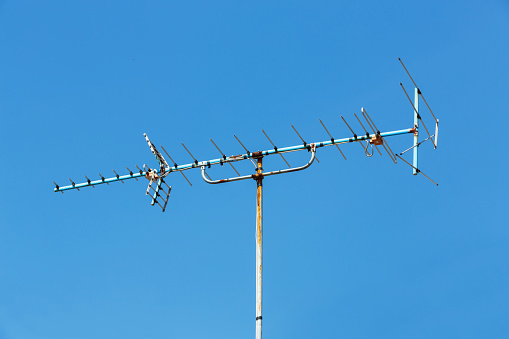 Antenna Repeater Tower Stock Photo - Download Image Now - iStock