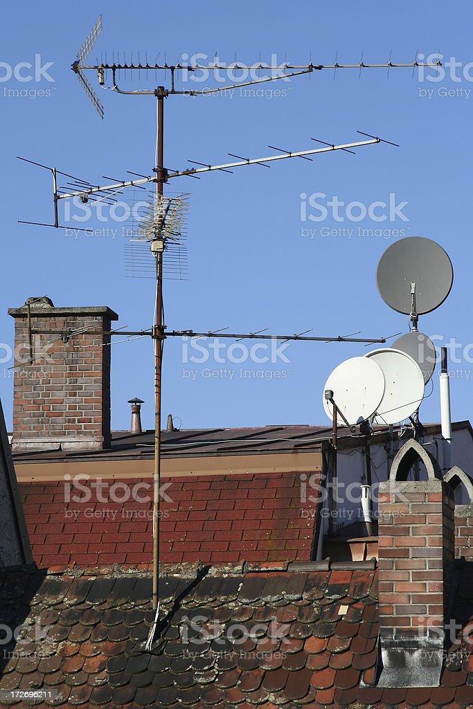Antenna Roof royalty-free stock photo