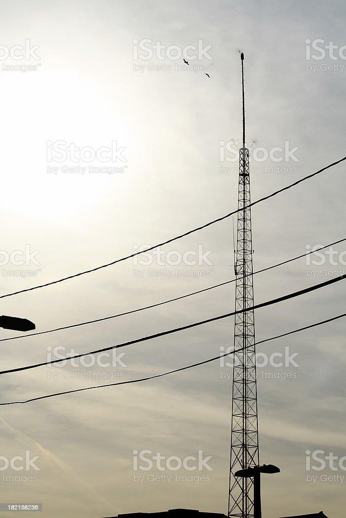 Antenna Tower royalty-free stock photo