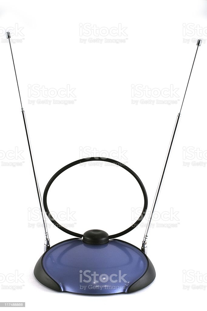 TV Antenna Vertical royalty-free stock photo