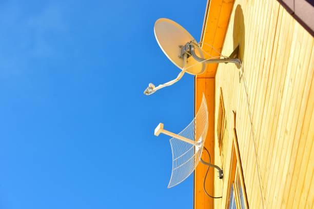 Cтоковое фото Антенны на дом