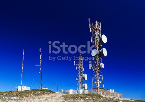 istock antennas on the top of the mountain 579164564