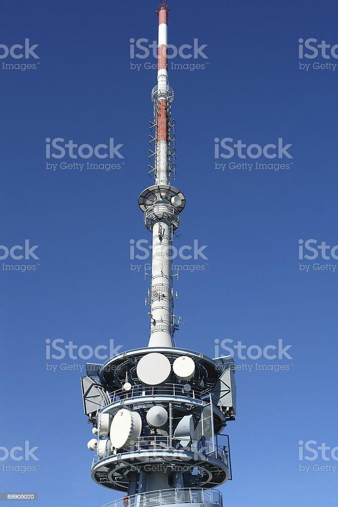 Antennas royalty-free stock photo