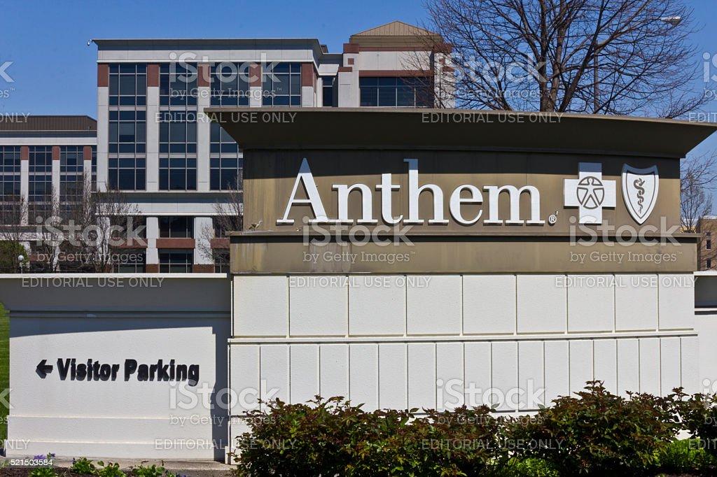 Indianapolis - April 2016: Anthem World Headquarters IV royalty-free stock photo