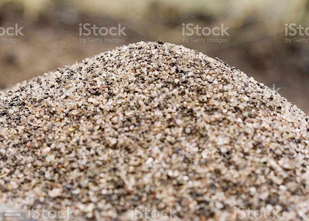 anthill peak, medium close royalty-free stock photo