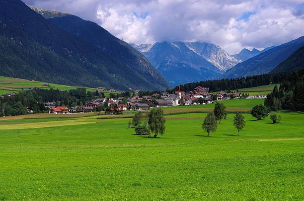 Antholzer valley Antholzer valley in Alto Adige bruneck stock pictures, royalty-free photos & images