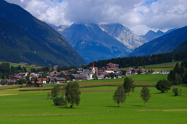 Antholzer valley Antholzer valley in italian Alps bruneck stock pictures, royalty-free photos & images