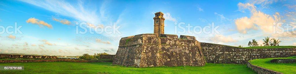 Anthonisz Memorial Clock Tower in Galle, Sri Lanka stock photo
