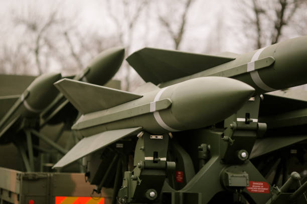 Anti aircraft missiles Anti aircraft missiles antiaircraft stock pictures, royalty-free photos & images