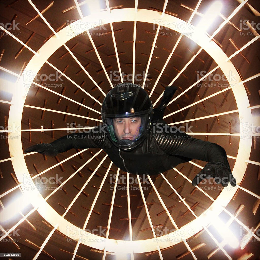 Anti Gravity And Space Adventure Stock Photo - Download
