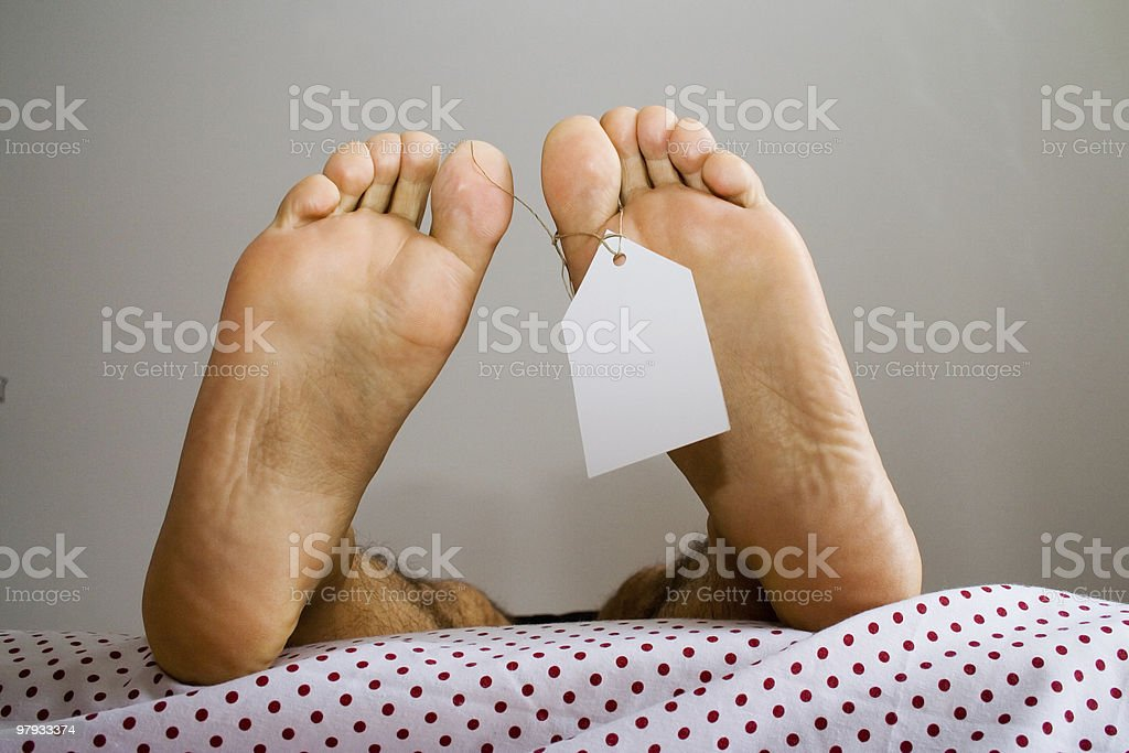 anti natural dead feets royalty-free stock photo