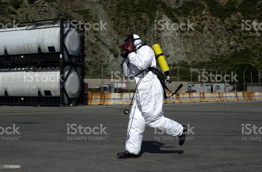 Anti Pollution Squad II royalty-free stock photo