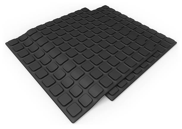 Anti slip rubber mat stock photo