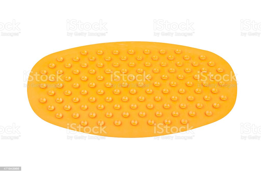Anti slip rubber mat stock photo