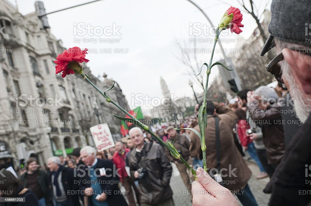 anti troika protest royalty-free stock photo