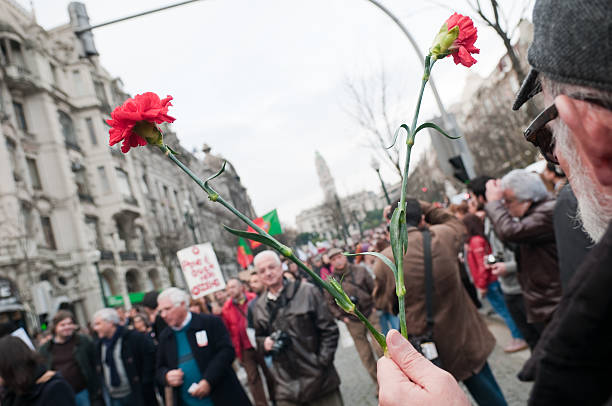 anti troika protest stock photo
