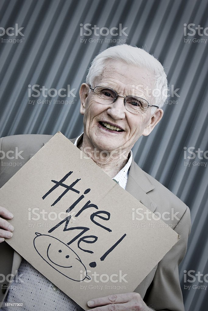 Anti-Ageism Concept royalty-free stock photo
