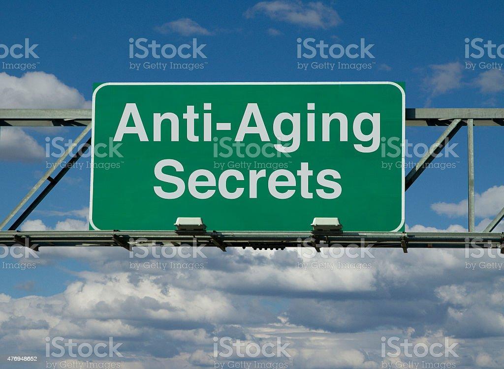 Anti-Aging Secrets stock photo
