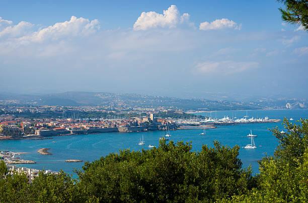 Antibes France stock photo