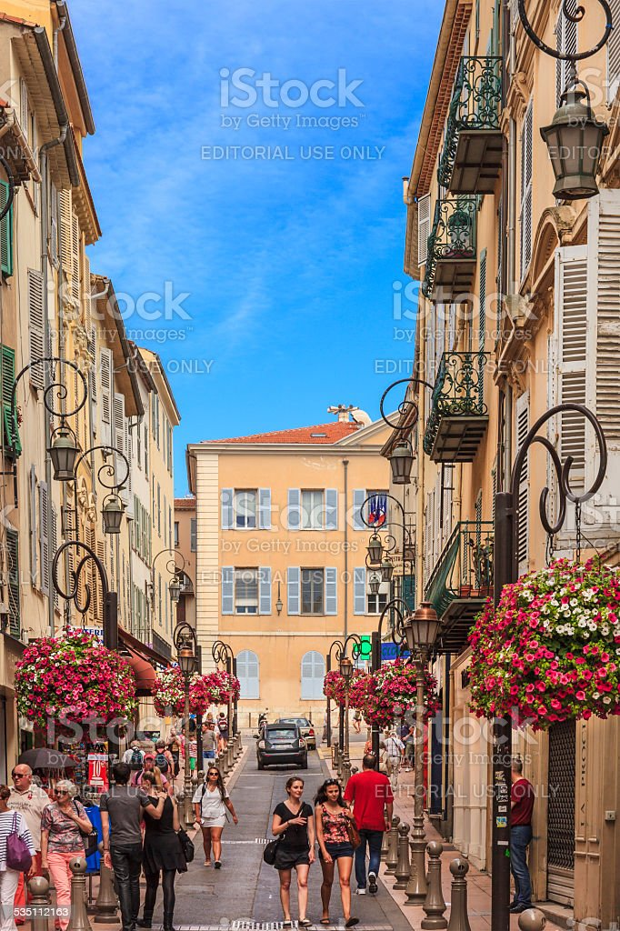 Antibes, France stock photo