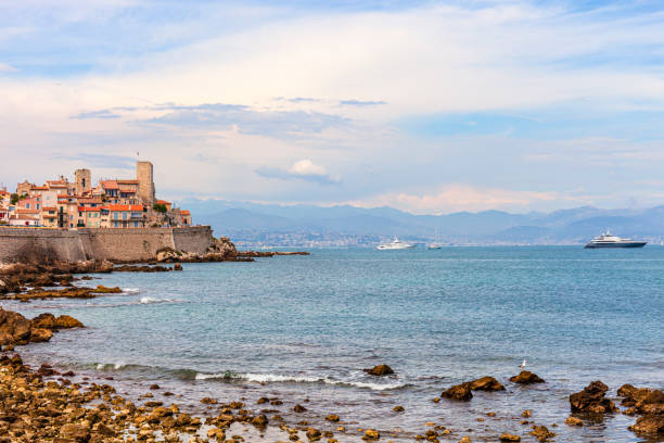Antibes, French Riviera, France stock photo
