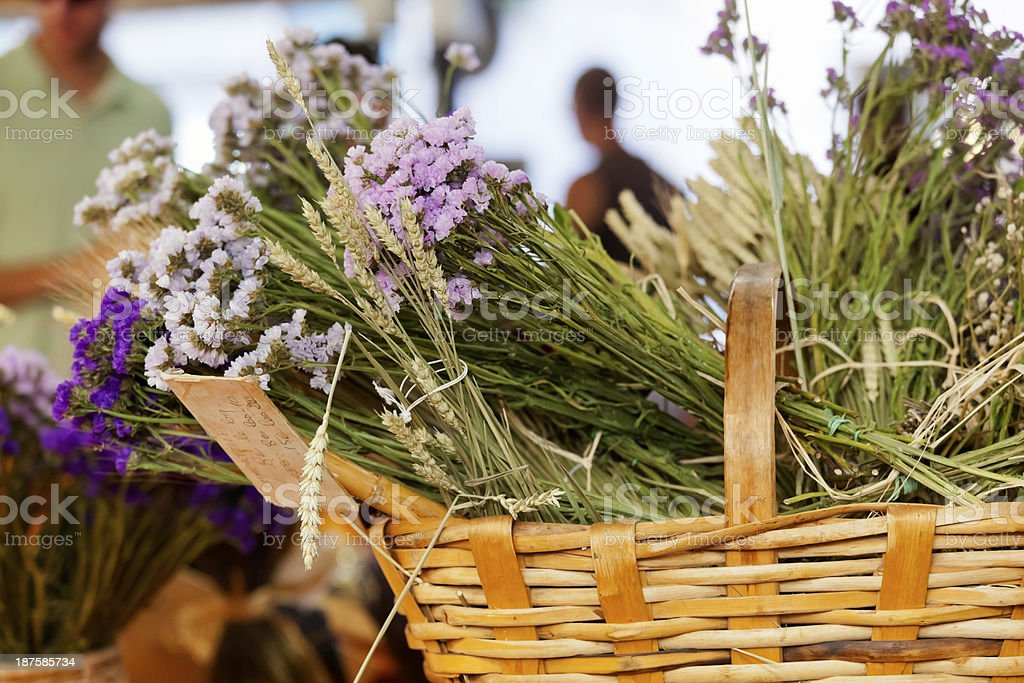 Antibes Market Provence stock photo