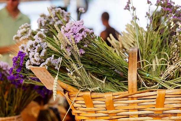 Antibes Market Provence stock photo