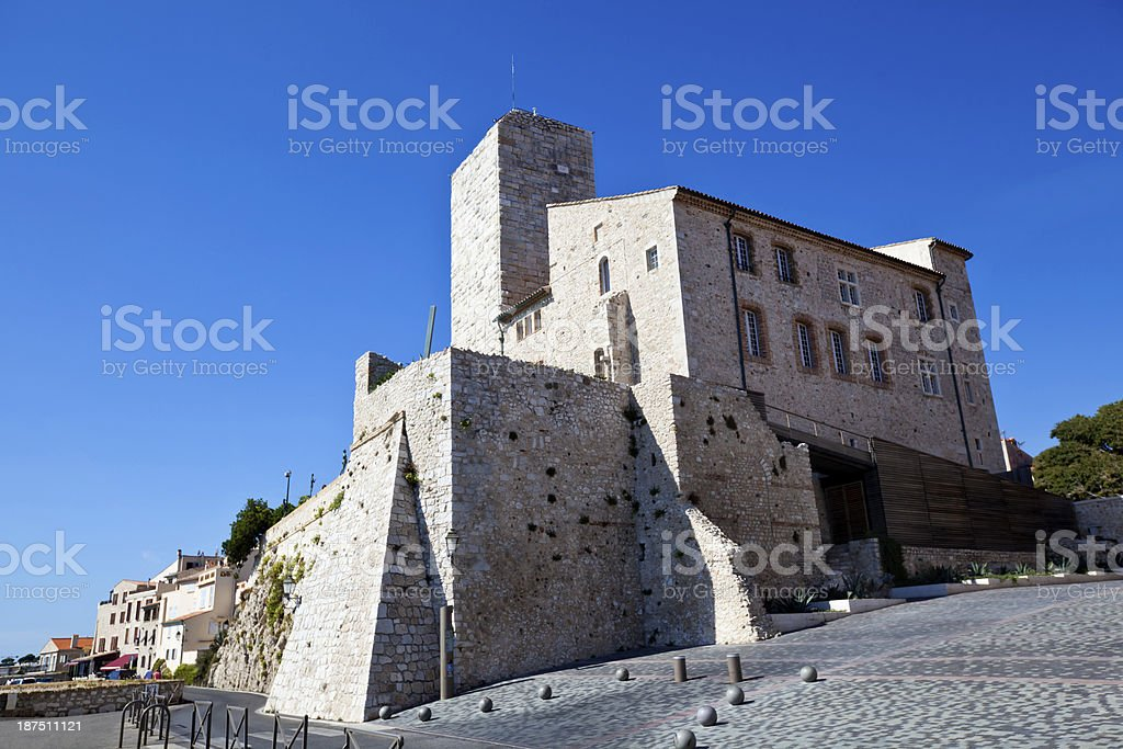 Antibes Museum stock photo