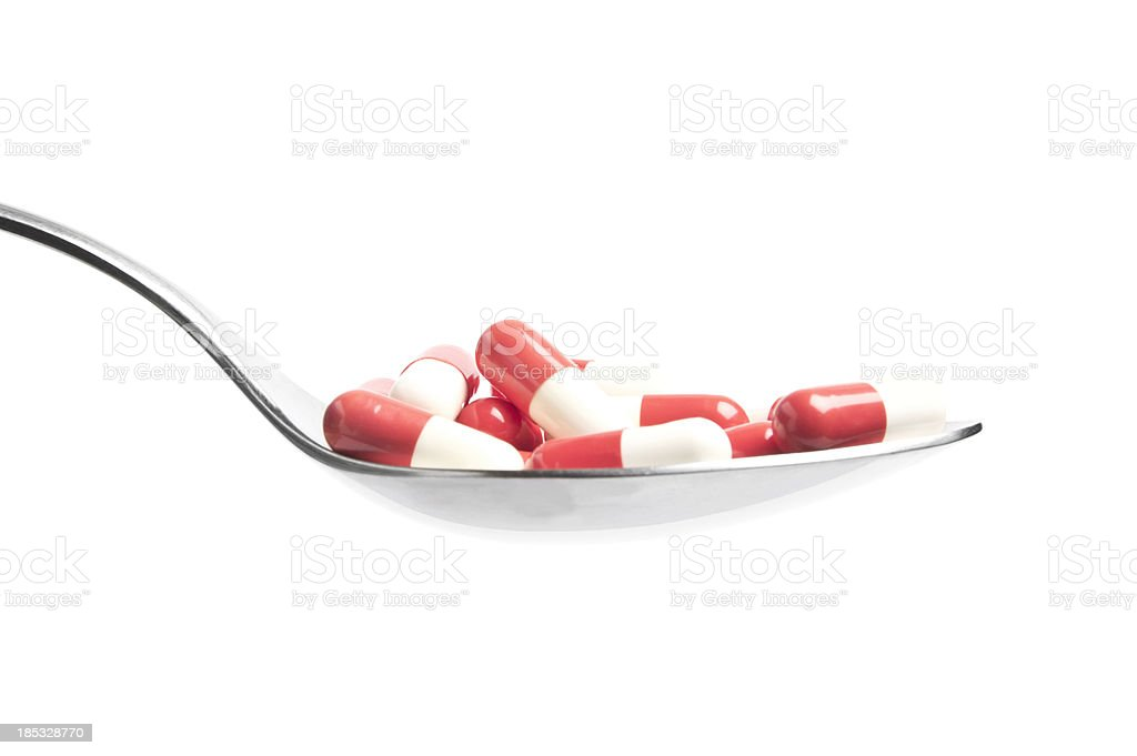 Antibiotic royalty-free stock photo