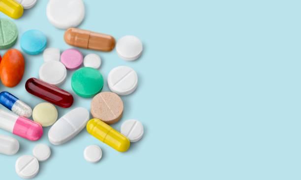 antibiotic. - farmaco foto e immagini stock