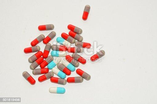 istock Antibiotic pills 501819456