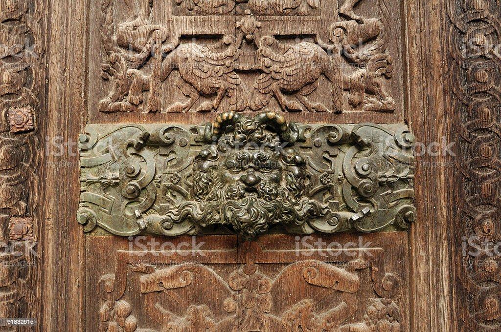 antic wood-carving door royalty-free stock photo & Antic Woodcarving Door stock photo   iStock pezcame.com