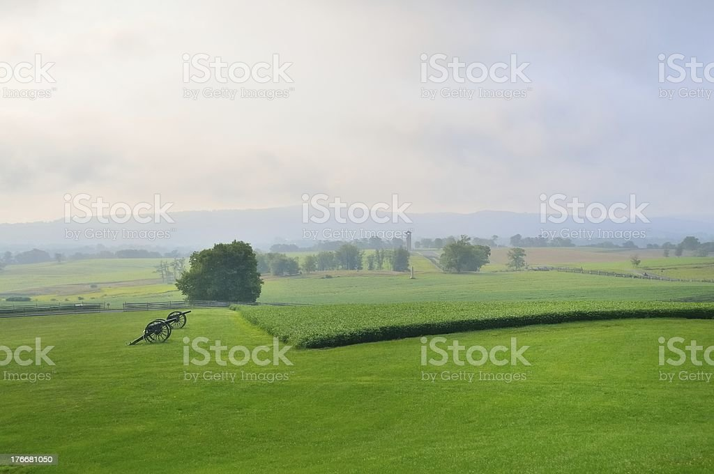 Antietam Battlefield View royalty-free stock photo