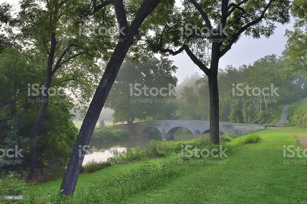 Antietam Burnside Bridge royalty-free stock photo
