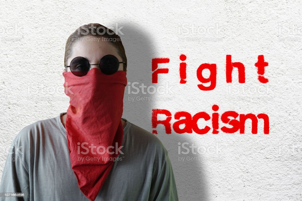 AntiFa stock photo