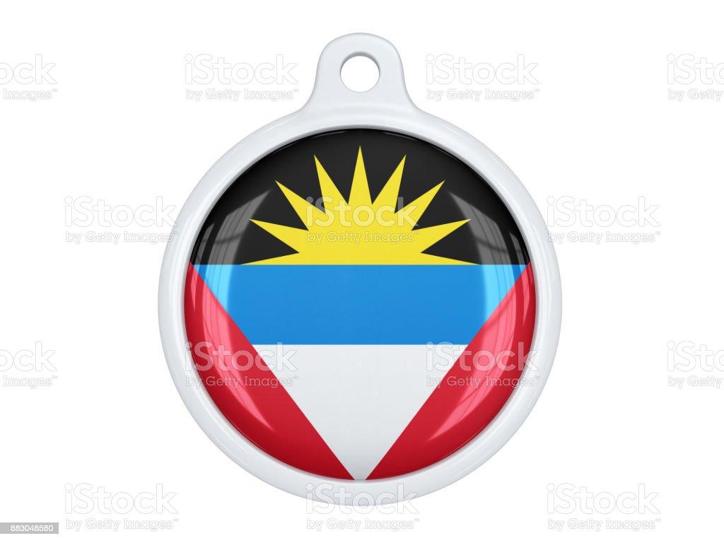 Antigua and Barbuda medal stock photo