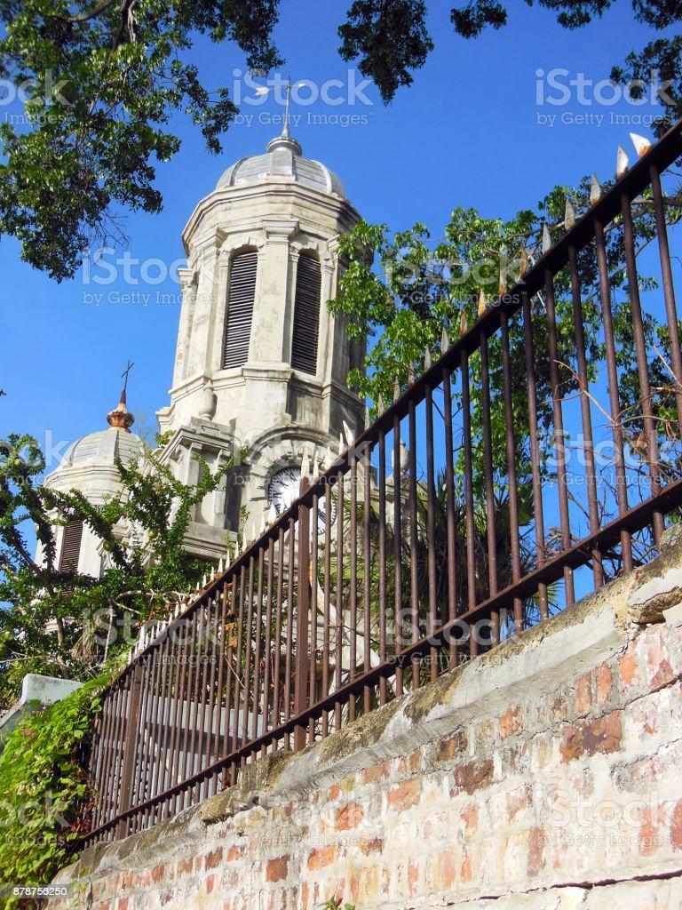 Antigua Cathedral stock photo