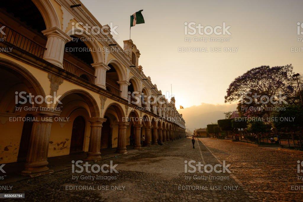 Antigua centre stock photo