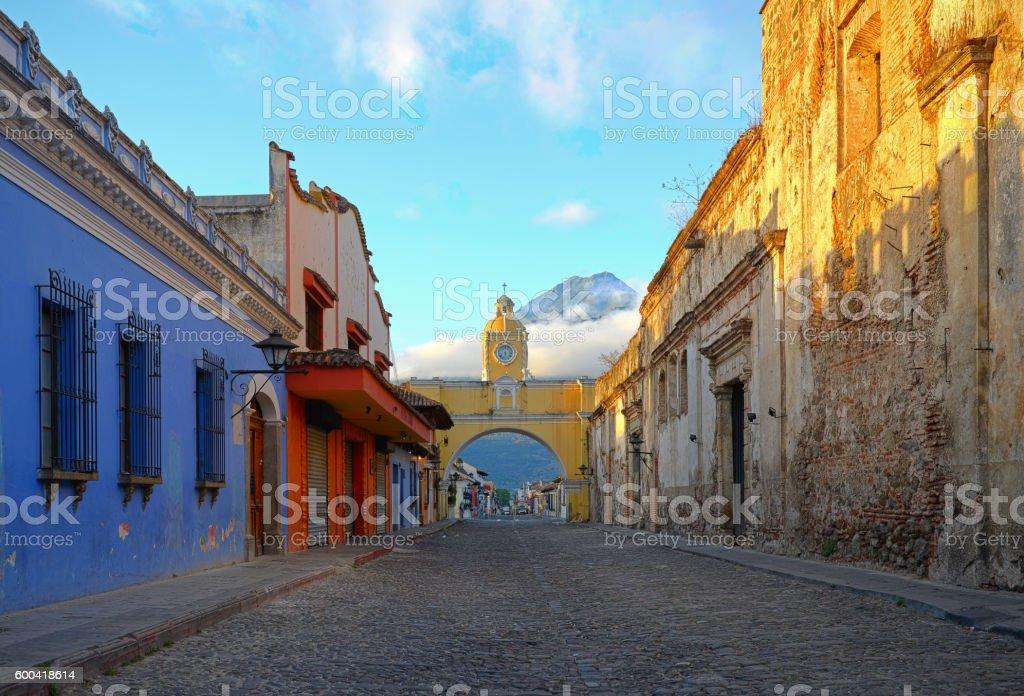 Antigua City Centre stock photo
