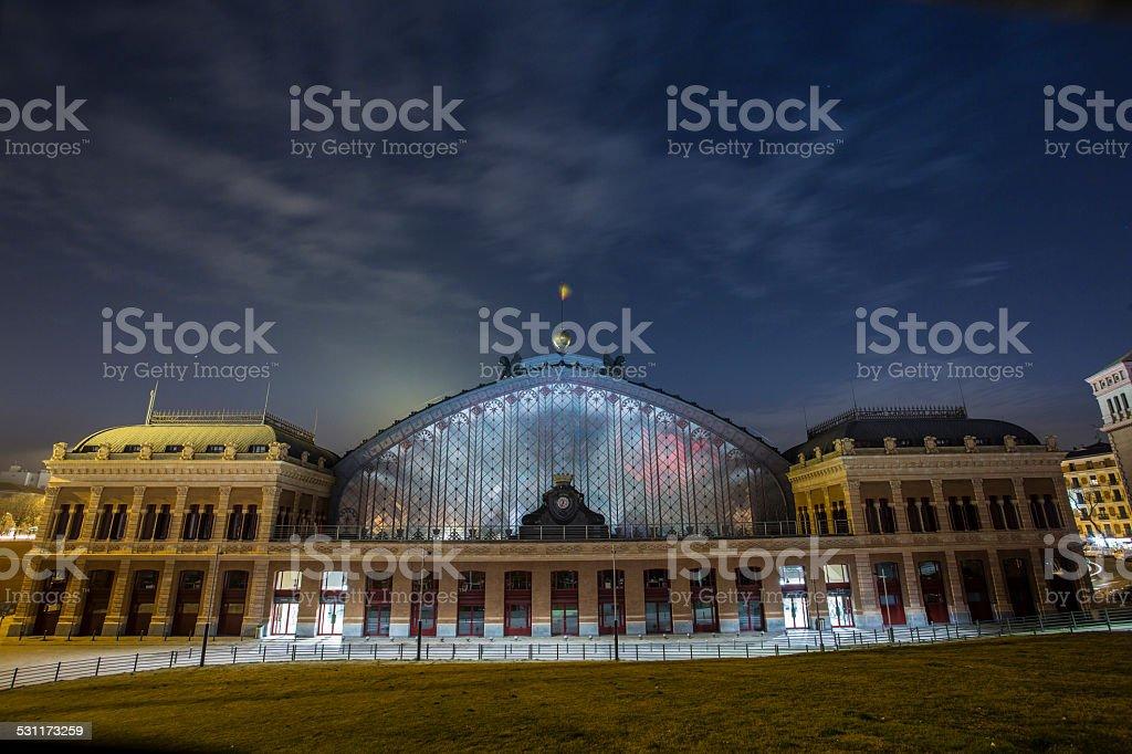 Antigua estación de Atocha - foto de stock