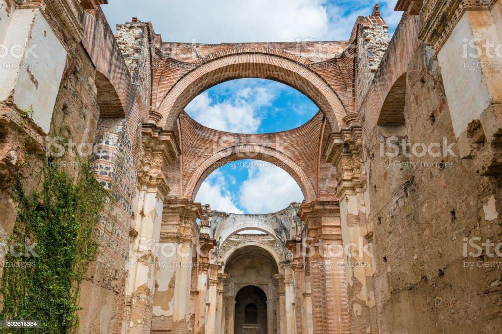 Antigua Ruins stock photo