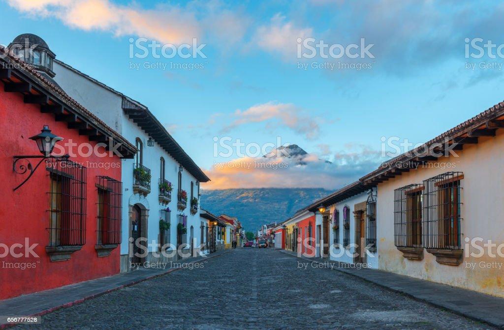 Antigua Sunrise stock photo