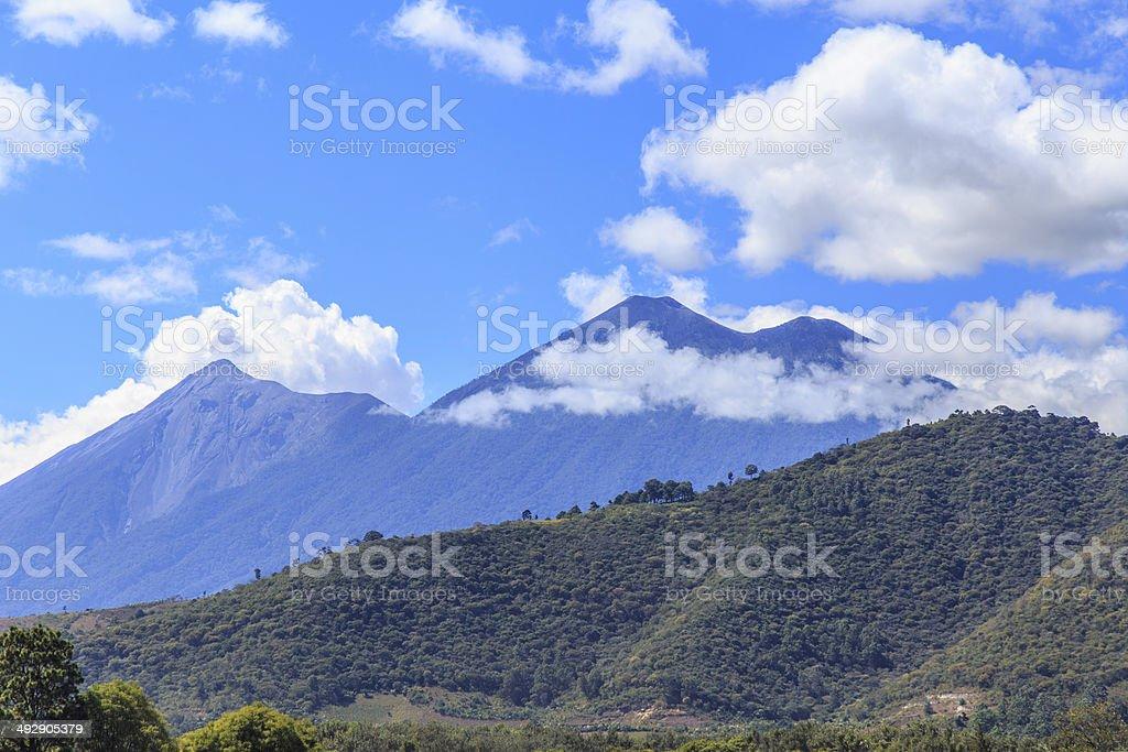 Antigua Volcano stock photo