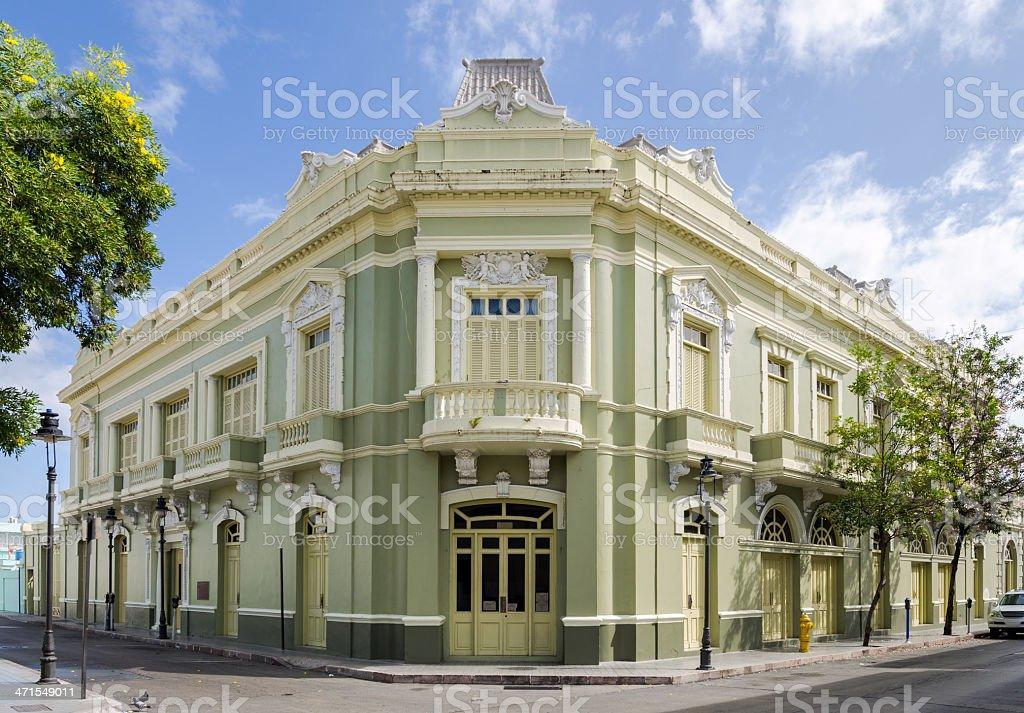 Antiguo Casino de Ponce in Puerto Rico stock photo