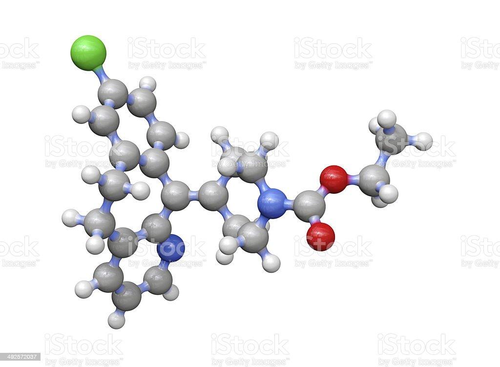 Antihistamine Drug Loratadine stock photo