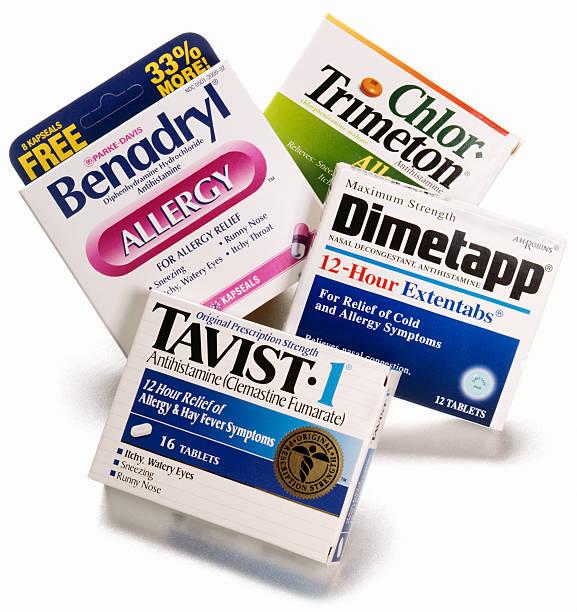 antihistamine  antihistamine stock pictures, royalty-free photos & images