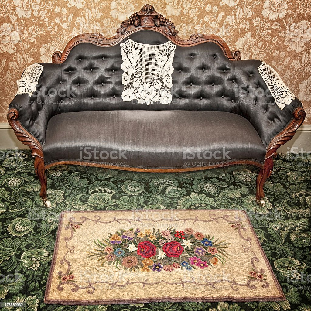 Antinque Interior royalty-free stock photo